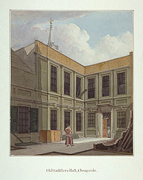 Building the 3rd Hall 1822